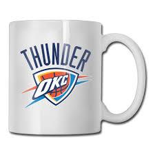 oklahoma city basketball logo coffee mug design your own grandpa