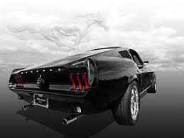 67 Mustang Black 1967 Ford Mustang Fastback Posters Fine Art America