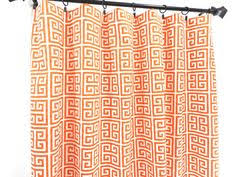 Orange Panel Curtains Yellow Curtain 2 Panel Curtain Yellow And By Twistedbobbindesigns