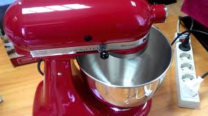 Kitchenaid Artisan Mixer by Kitchenaid Artisan Empire Red Youtube
