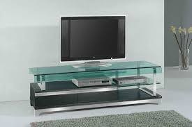 futuristic living room furniture with glass television wall stand
