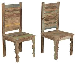 Rustic Dining Chair Charming Rustic Dining Chairs Home Decor Intended For Awesome