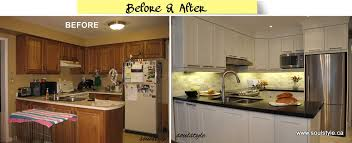 small kitchen renovations before and after or maybe these 2