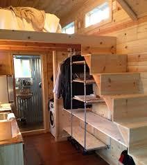homes on wheels spacious tiny house on wheels by tiny idahomes via tiny house talk