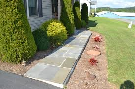 Pictures Of Stone Walkways by Flagstone Walkways U0026 Patios Pyle Bros Building Stone Contrators