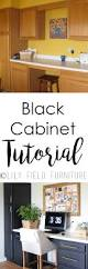 Black Kitchen Furniture Black Kitchen Cabinets Lily Field Co