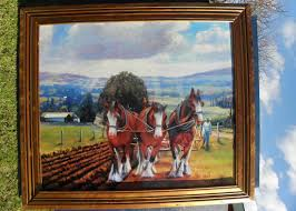 Horse Murals by Ron Gribble Oil Painting New Zealand Murals