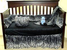 Pink Cheetah Crib Bedding Pink And Leopard Cheetah Bedding Set By Ashtensmeenk On Etsy