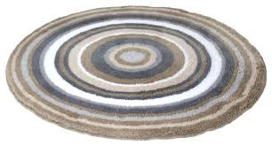 Taupe Bathroom Rugs Circle Bath Rugs Circle Shaped Bath Mat Taupe Non Slip