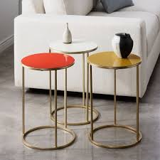 Small Side Table Enamel Side Table Small West Elm