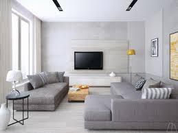 Light Gray Laminate Flooring Living Room Cream Modern Sofa Also Metal Frame Coffee Table Plus