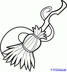 how to draw a witch broom step 6 draw witch pinterest witch