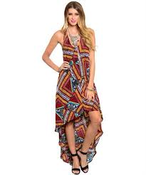 dress boho fashion fall high low dresses thanksgiving
