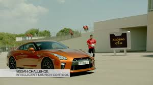 nissan gtr launch control nissan challenge gt r intelligent launch control sergio aguero on