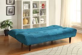 Green Velvet Tufted Sofa by Teal Velvet Futon Sofa Bed Caravana Furniture