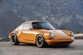 porsche 911 for sale singer vehicle design restored reimagined reborn