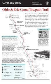 Ohio Canal Map by Nostalgicoutdoorstm Cuyahoga Valley Np Ohio U0026 Erie Canal Towpath Tr U2026