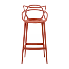 masters high barstool 75cm designed by philippe starck