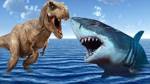 shark vs dinosaurs fighting 3d dinosaur shark cartoons for