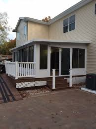 Sunroom On Existing Deck New Sunroom Jobs Tri State Building Specialties