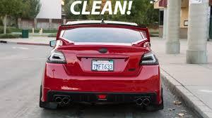 red subaru sedan the cleanest red subaru wrx timeline of 2016 youtube