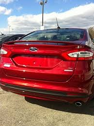 2013 ford fusion spoiler amazon com 2013 2014 2015 ford fusion spoiler painted bt automotive