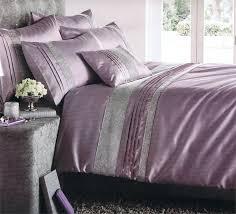 Superking Duvet Sets Changingbedrooms Com Stylish Heather Purple Embellishe D Pin Tuck