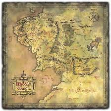 map of the lord of the rings daniel reeve artist calligrapher cartographer