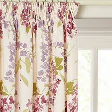 Pink Pleated Curtains Buy John Lewis Wisteria Lined Pencil Pleat Curtains John Lewis