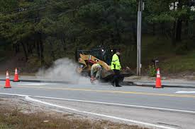 route 6 u s 6 roadwork in wellfleet