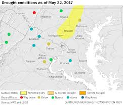 Us Drought Map You Can The Rain Again U2014 The D C Area U0027s Drought Has Subsided