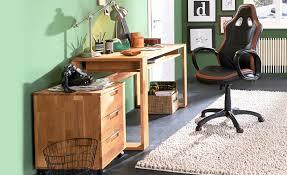 Schreibtisch Massiv Schreibtisch Eiche Massiv Geölt Lahn Möbel Höffner