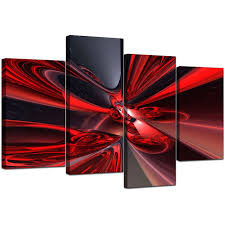 Living Room Art Sets Decor Abstract Canvas Artwork Set Of 4 For Decorating Living Room