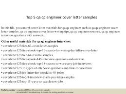 Sample Qa Resumes by Top5qaqcengineercoverlettersamples 150622104609 Lva1 App6892 Thumbnail 4 Jpg Cb U003d1434970033