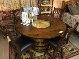 Jack Daniels Barrel Kitchen Table Kitchen Tables Sets - Barrel kitchen table