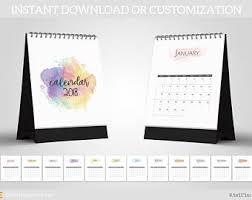 2018 calendar photography template 8 5x11 photoshop template