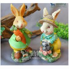 easter rabbits decorations shop easter rabbit decorations on wanelo