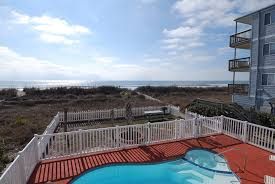 ocean front vacation home cherry grove beach 5206 n ocean