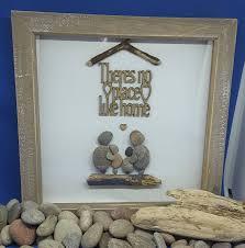 there u0027s no place like home pebble art family gift housewarming