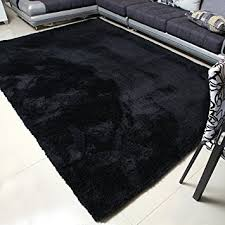 Modern Black Rugs Mbigm Soft Modern Area Rugs Living Room Carpet