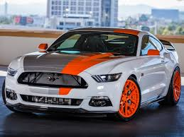 first mustang ever made ford 2016 mustangs focus and f series outruns competitors at sema