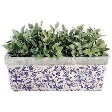 white cylinder planter wayfair