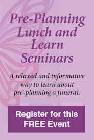 funeral pre planning lunch learn seminars brainard funeral home