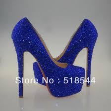 Cobalt Blue High Heels Navy Blue Glitter Heels Promotion Online Shopping For Promotional