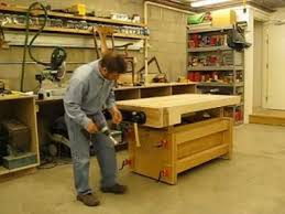 Proper Woodworking Bench Height by Workbench Design Idea And Plans Youtube