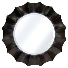 wall ideas round wall mirror decor contemporary round frameless
