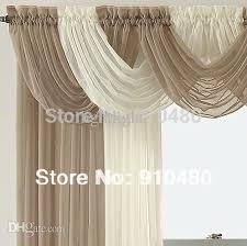 Sheer Valance Curtains Wholesale Beautiful Sheer Curtain Valance Waterfall Swag Valance