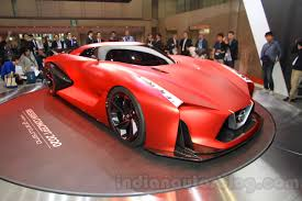nissan supercar concept nissan concept 2020 vision gran turismo front quarters at the 2015