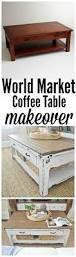 Making A Basic End Table by Best 25 Coffee Table Makeover Ideas On Pinterest Ottoman Ideas