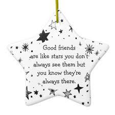 friends are like quote ceramic ornament zazzle